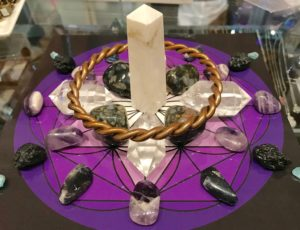 Spiritual Power of Eleven Unity Consciousness Crystal Grid